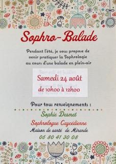 SOPHRO-BALADE